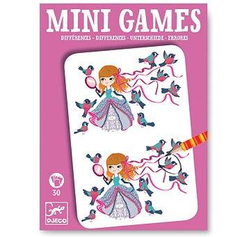Obrázek produktu Mini hra Djeco - Hledej rozdíly s Léou