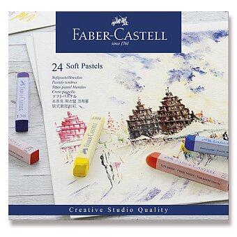 Obrázek produktu Pastelové křídy Faber-Castell - 24 barev