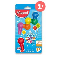 Pastely Maped Color´Peps Baby Crayons
