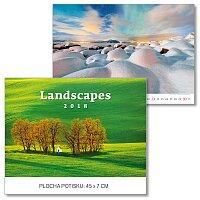 Nástěnný obrázkový kalendář Landscapes