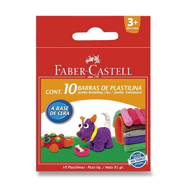 Modelovací hmota Faber-Castell 10 barev