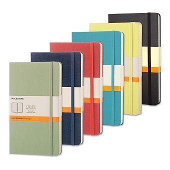 Obrázek produktu Zápisník v tvrdých deskách MOLESKINE - 13 x 21 cm, linkovaný, výběr barev