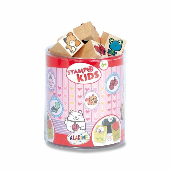 Razítka Aladine Stampo Kids - Littlest Pet Shop
