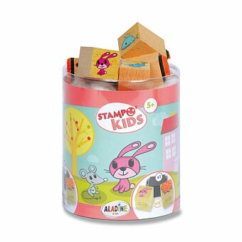 Obrázek produktu Razítka Aladine Stampo Kids - Myška Lily a její kamarádi