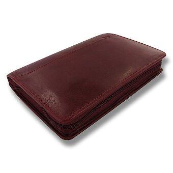 Obrázek produktu Osobní diář Filofax Lockwood Zip A6 - rubínový