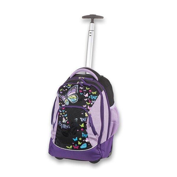 a04b239336 Školní batoh s kolečky Schneiders Scoot Papillon