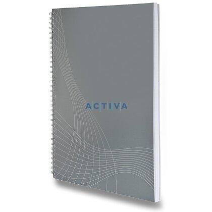 Obrázok produktu Avery Zweckform Notizio - krúžkový blok - A4, 80 listov, linajkový