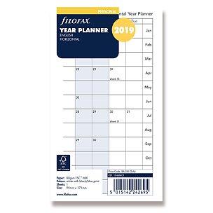 Plánovací kalendář 2019, Aj