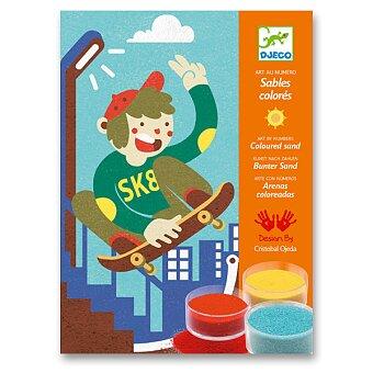 Obrázek produktu Malování barevným pískem Djeco - Legrace na prknech