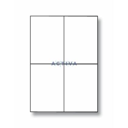 Obrázek produktu SK Label - adresní etikety - 105×148 mm, 400 etiket