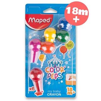 Obrázek produktu Pastely Maped Color´Peps Baby Crayons - 6 barev