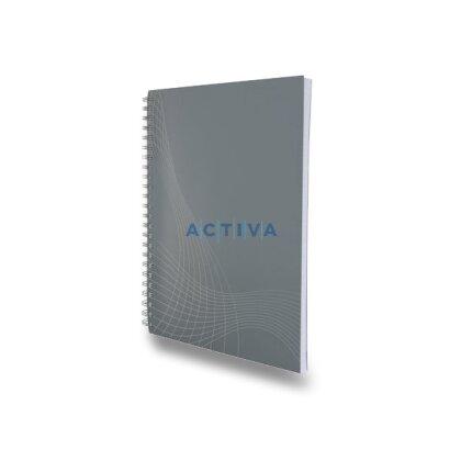 Obrázok produktu Avery Zweckform Notizio - krúžkový blok - A5, 80 listov, linajkový