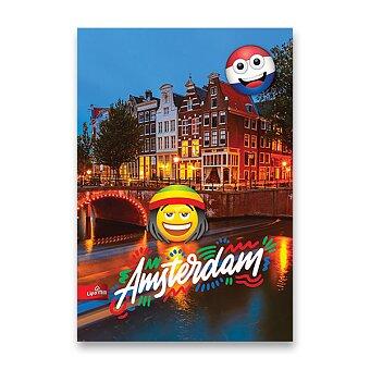 Obrázek produktu Školní sešit Emoji - A4, linkovaný, 40 listů, mix motivů