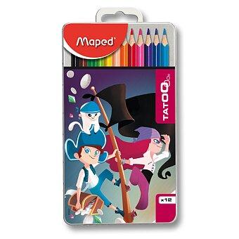 Obrázek produktu Pastelky Maped Color'Peps Metal Tatoo - 12 barev