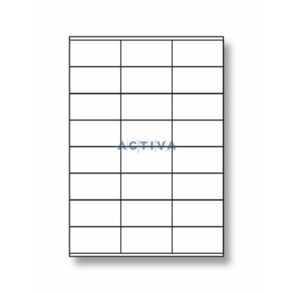 Obrázek produktu SK Label - adresní etikety - 70×37,0 mm, 2400 etiket, (A)