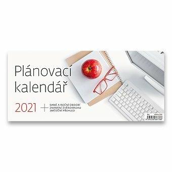 Plánovací kalendář stolní pracovní kalendář