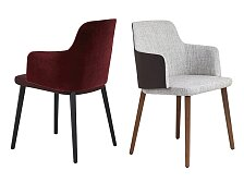 Židle s područkami Montis Back Me Up Armchair