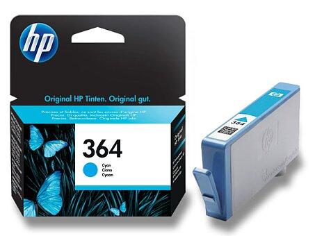 Obrázek produktu Cartridge HP CB318EE č. 364 pro inkoustové tiskárny - cyan (modrý)