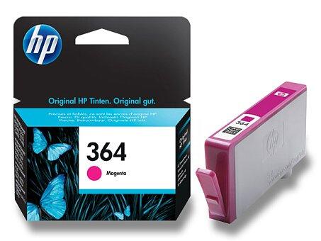 Obrázek produktu Cartridge HP CB319EE č. 364 pro inkoustové tiskárny - magenta (červená)