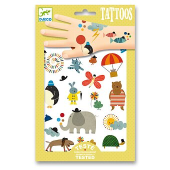 Obrázek produktu Tetování Djeco - Roztomilá zvířátka