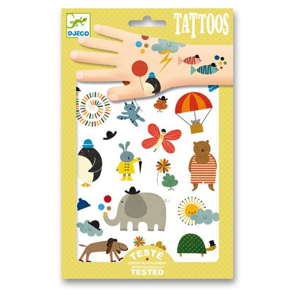 Tetování Djeco Roztomilá zvířátka Djeco