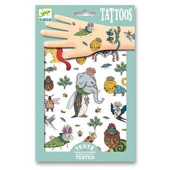 Obrázek produktu Tetování Djeco - Přeházená zvířátka