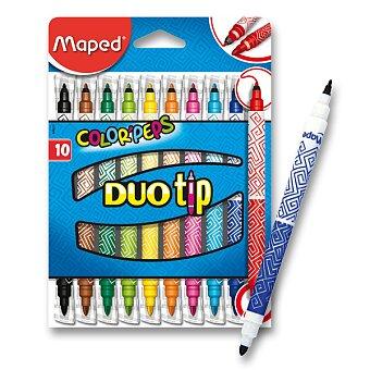 Obrázek produktu Dětské fixy Maped Color'Peps Duo Tip - 10 oboustranných fixů