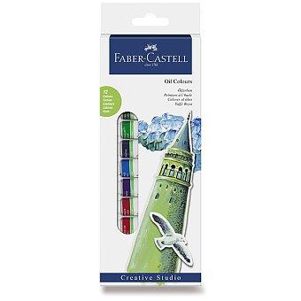 Obrázek produktu Olejové barvy Faber-Castell - 12 barev