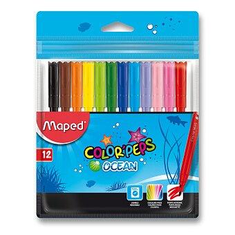 Obrázek produktu Dětské fixy Maped Color'Peps Ocean - 12 barev