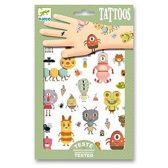 Obrázek produktu Tetování Djeco - Malé příšery