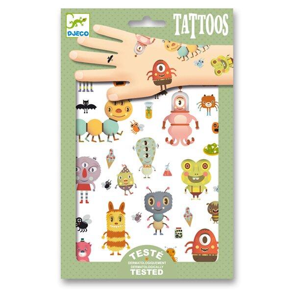 Tetování Djeco Malé příšery Djeco