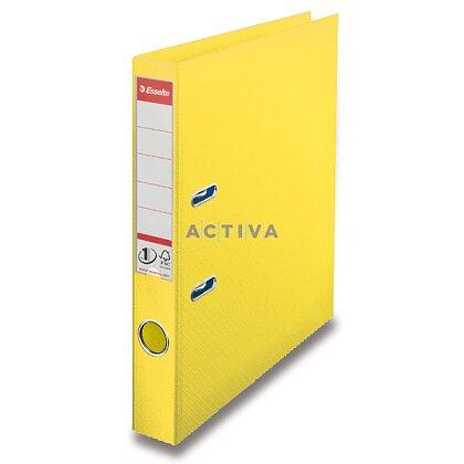 Obrázek produktu Esselte Vivida - pákový pořadač - 50 mm, žlutý