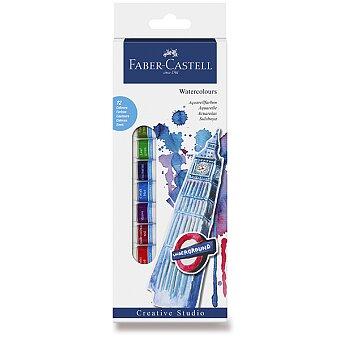 Obrázek produktu Akvarelové barvy Faber-Castell - 12 barev