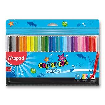 Obrázek produktu Dětské fixy Maped Color'Peps Ocean - 24 barev