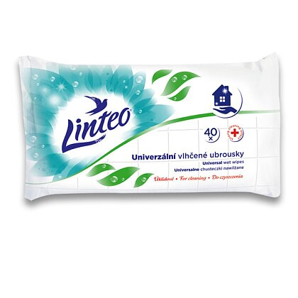 Obrázek produktu Linteo - univerzální vlhčené ubrousky, 40 ks