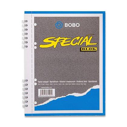 Obrázek produktu Bobo blok Speciál - kroužkový blok - A5, 50 l., čistý