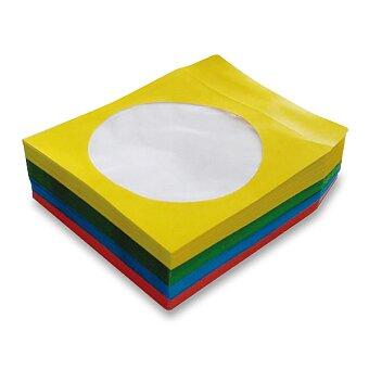 Obrázek produktu Papírová obálka na CD - mix barev, 100 ks