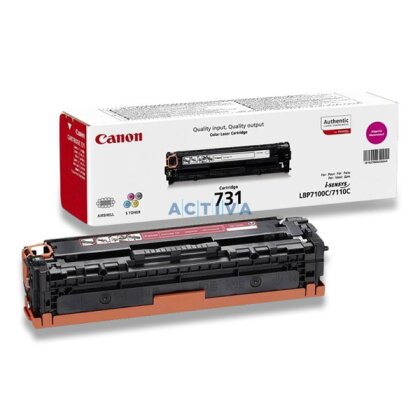 Obrázek produktu Canon - toner CRG-731, Magenta (červený) pro laserové tiskárny