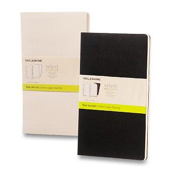 Obrázek produktu Zápisník Moleskine Volant - L, čistý, 2 ks, výběr barev