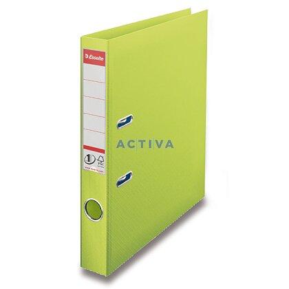 Obrázek produktu Esselte Vivida - pákový pořadač - 50 mm, zelený