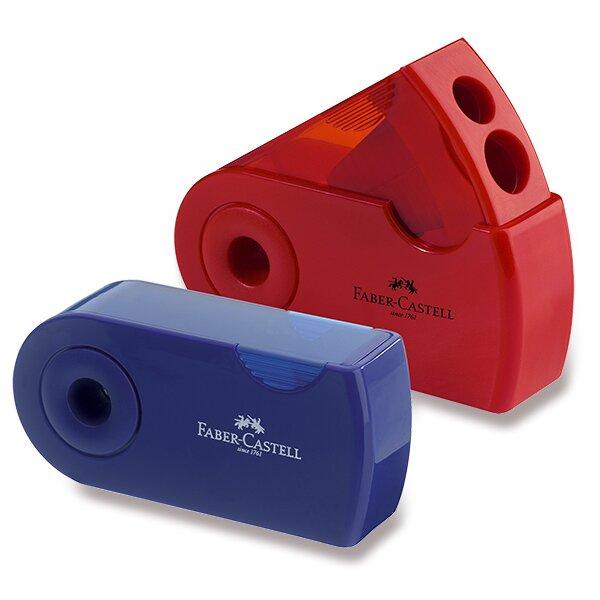 Ořezávátko Faber-Castell  Sleeve 2 otvory, mix barev
