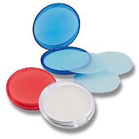 Cleany - plátky mýdla v pouzdře, výběr barev