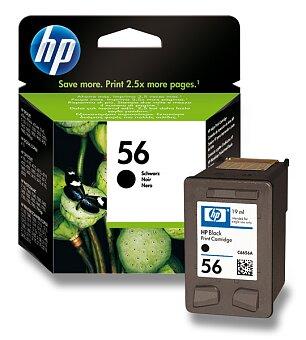 Obrázek produktu Cartridge HP C6656AE č. 56 pro inkoustové tiskárny - black (černý)