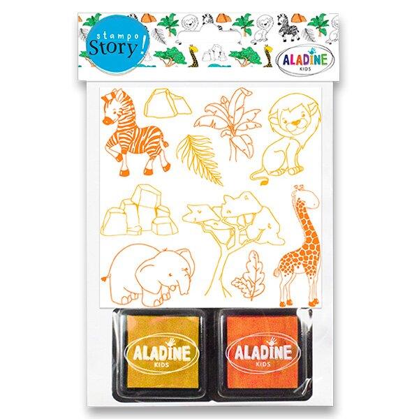Razítka Aladine Stampo Story Safari