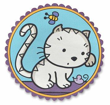 Obrázek produktu Nažehlovací nálepky na textil - Kočičky