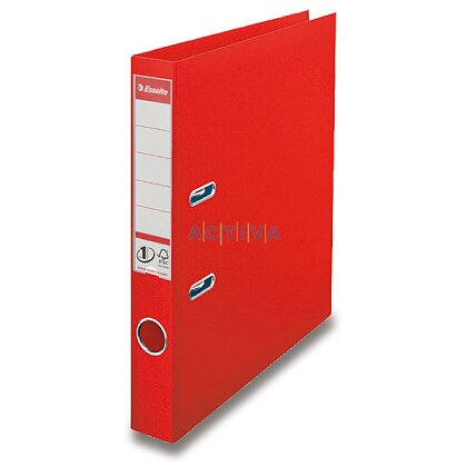 Obrázek produktu Esselte Vivida - pákový pořadač - 50 mm, červený
