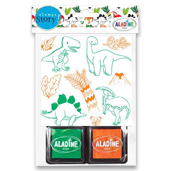 Razítka Aladine Stampo Story Dinosauři