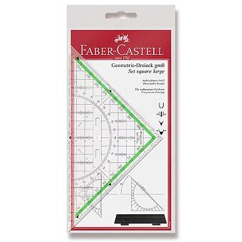 Obrázek produktu Multifunkční trojúhelník Faber-Castell TEKA s úchytem