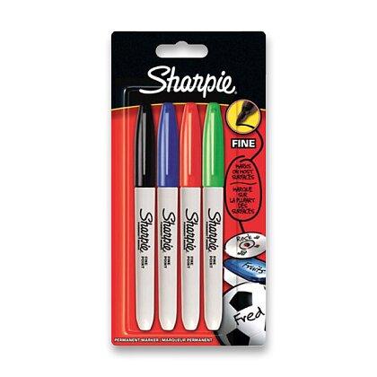 Obrázek produktu Sharpie - permanentní popisovač - sada 4 ks