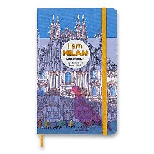 Zápisník Moleskine I am Milan - tvrdé desky